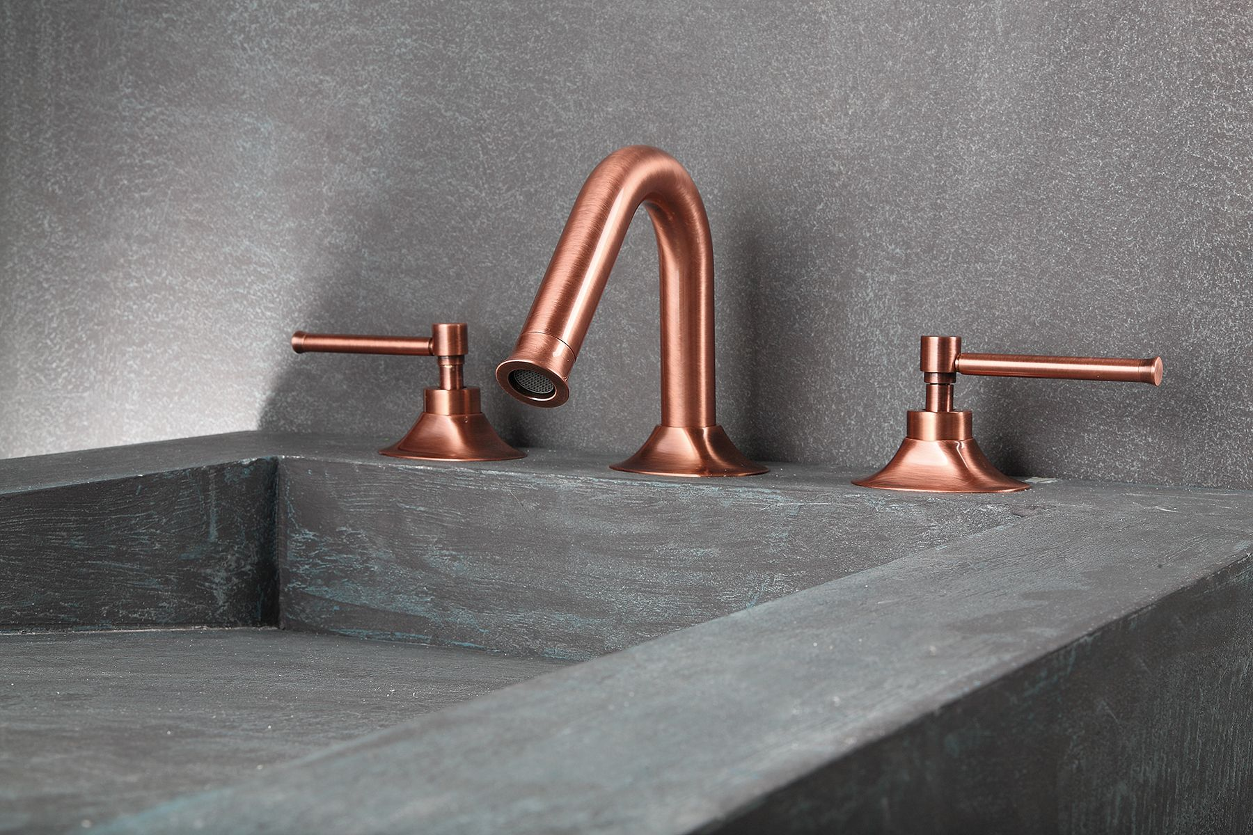 Pau 3 Piece Copper Basin Tap | Bath room | Pinterest | Basin taps ...