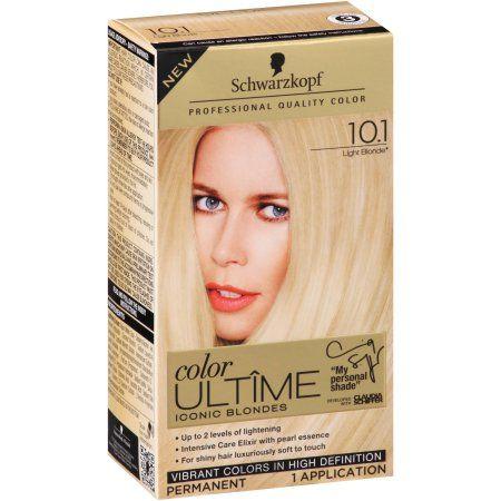 Schwarzkopf Color Ultaa Me Iconic Blondes 10 1 Light Blonde Hair