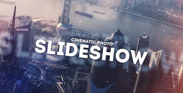 Cinematic Photo Slideshow (Openers) After Effects Templates