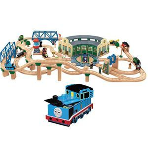 Tidmouth Sheds Deluxe Set with Storage Box | Trains Galore - My ...