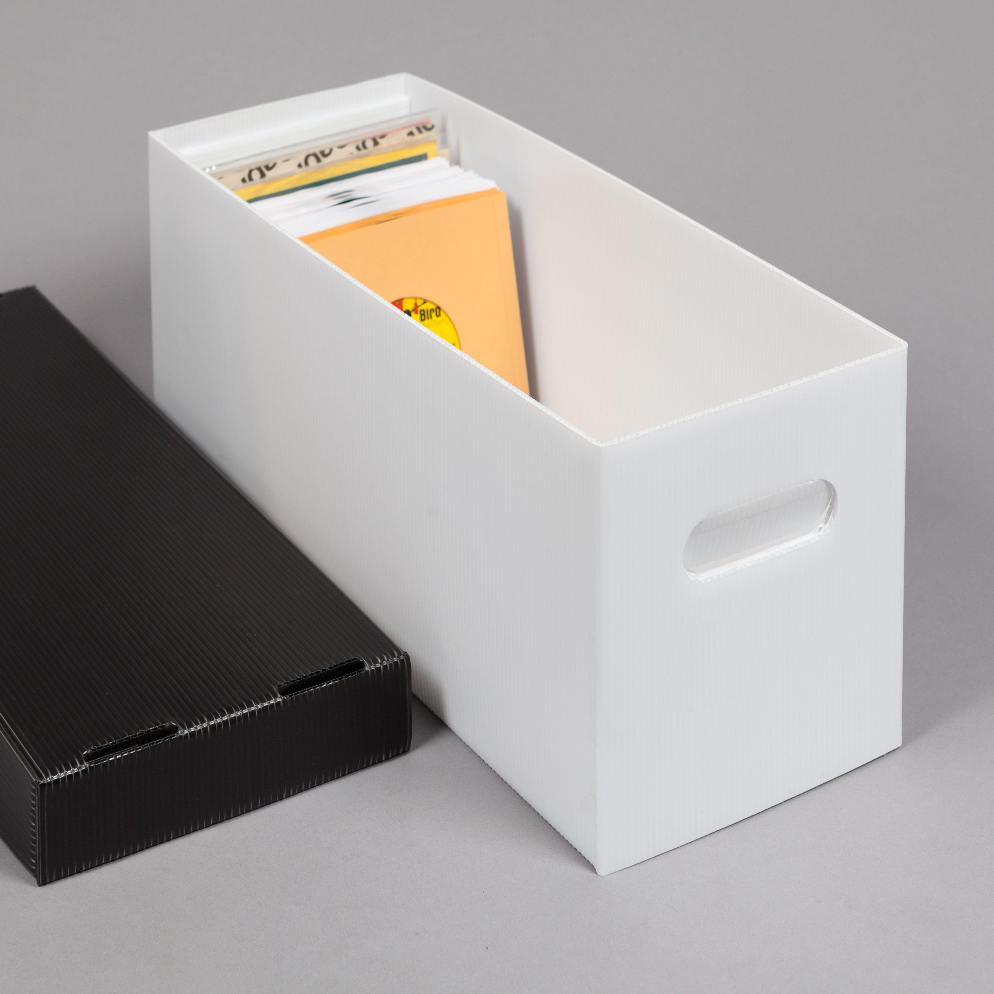 Ultra Boxx 174 Plastic Corrugated 45 Rpm Record Storage Box