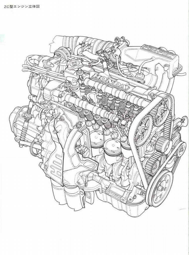 I need to learn every component of this motor, by just