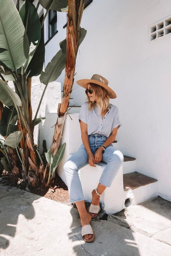 Photo of Simple Summer Lookbook for Women Over 50 Follow me for more summer outfits for t…