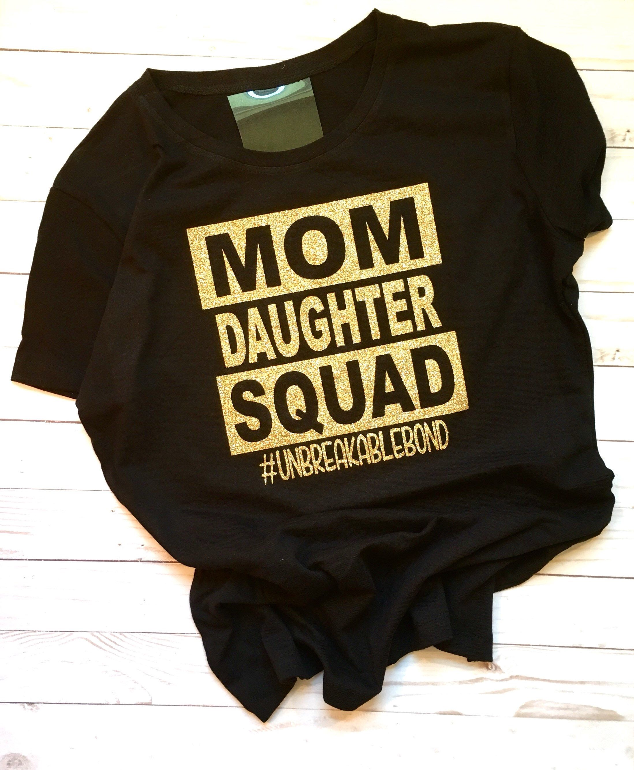 f3f8bded6770 Excited to share this item from my #etsy shop: Mom Daughter Squad ...