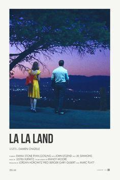 La La Land alternative movie postersPrints available Indie movies Indie-movies R