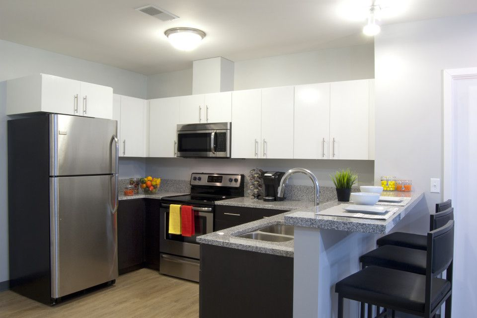 The Flats Super Modern Kitchen Is Perfection Apartments CAStudentLiving