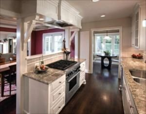 Image Result For Galley Kitchen Open To Living Room Galley