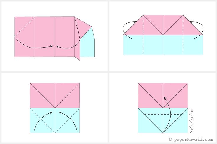 Make an easy origami envelope wallet diagram pinterest make an easy origami envelope wallet diagram ccuart Gallery