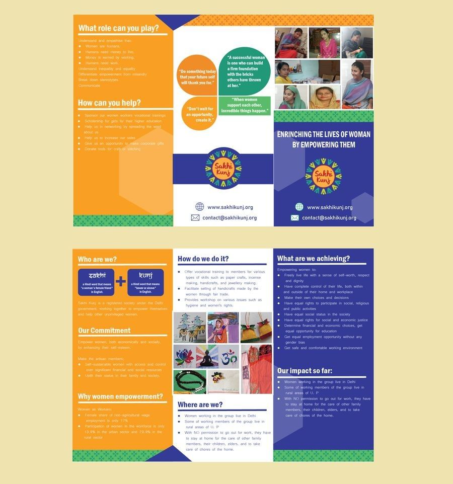 Sample Brochure For Ngo - brochure background artistic With Ngo Brochure Templates