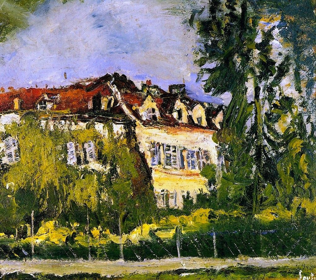 Landscape with House  Chaim Soutine - circa 1934