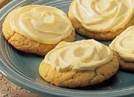 Frosted Cake Mix Lemon Cookies Recipe Lemon Cookies Lemon And