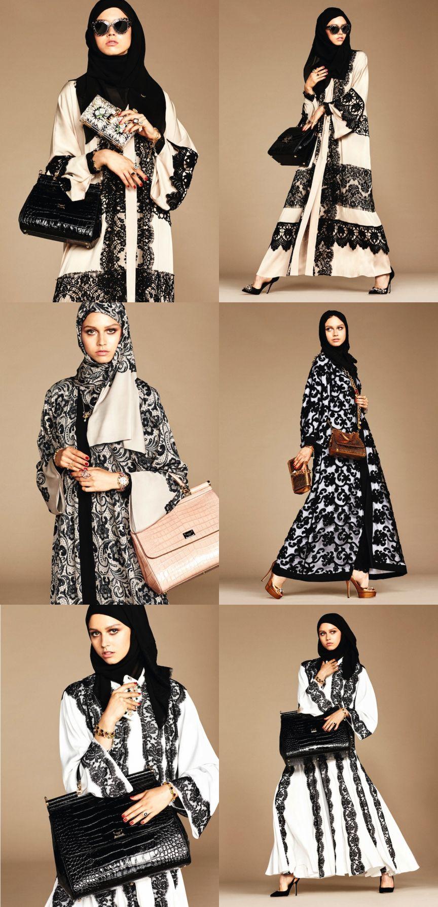 Dolce and Gabbana hijab and abaya1   Islam   Pinterest   Pano 0bcf4704d0