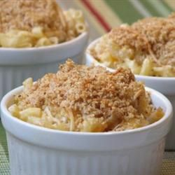 Chuck's Favorite Mac and Cheese Allrecipes.com. Need to add milk.