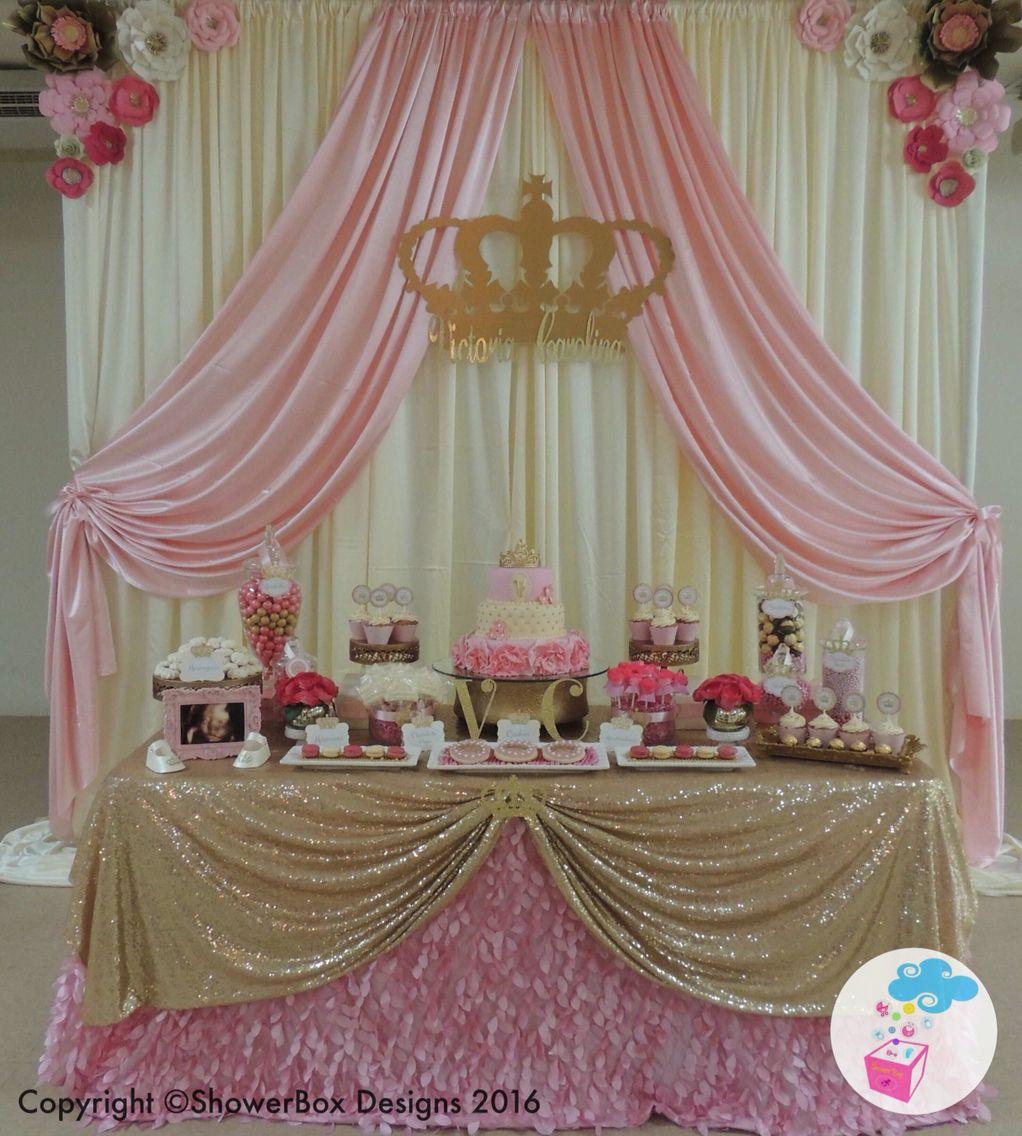 Princess Theme Baby Shower ShowerBox Events Like Us On FB #myshowerbox  Www.myshowerbox.