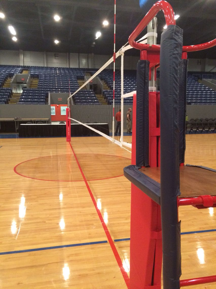 Our Equipment At The Michigan Volleyball High School Championship Indoor Volleyball Volleyball Net Volleyball