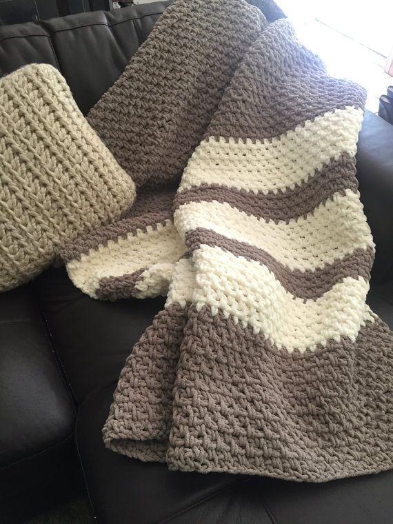 Sale Crochet Throw Blanket Lap Blanket By Clemenscrochet On Etsy