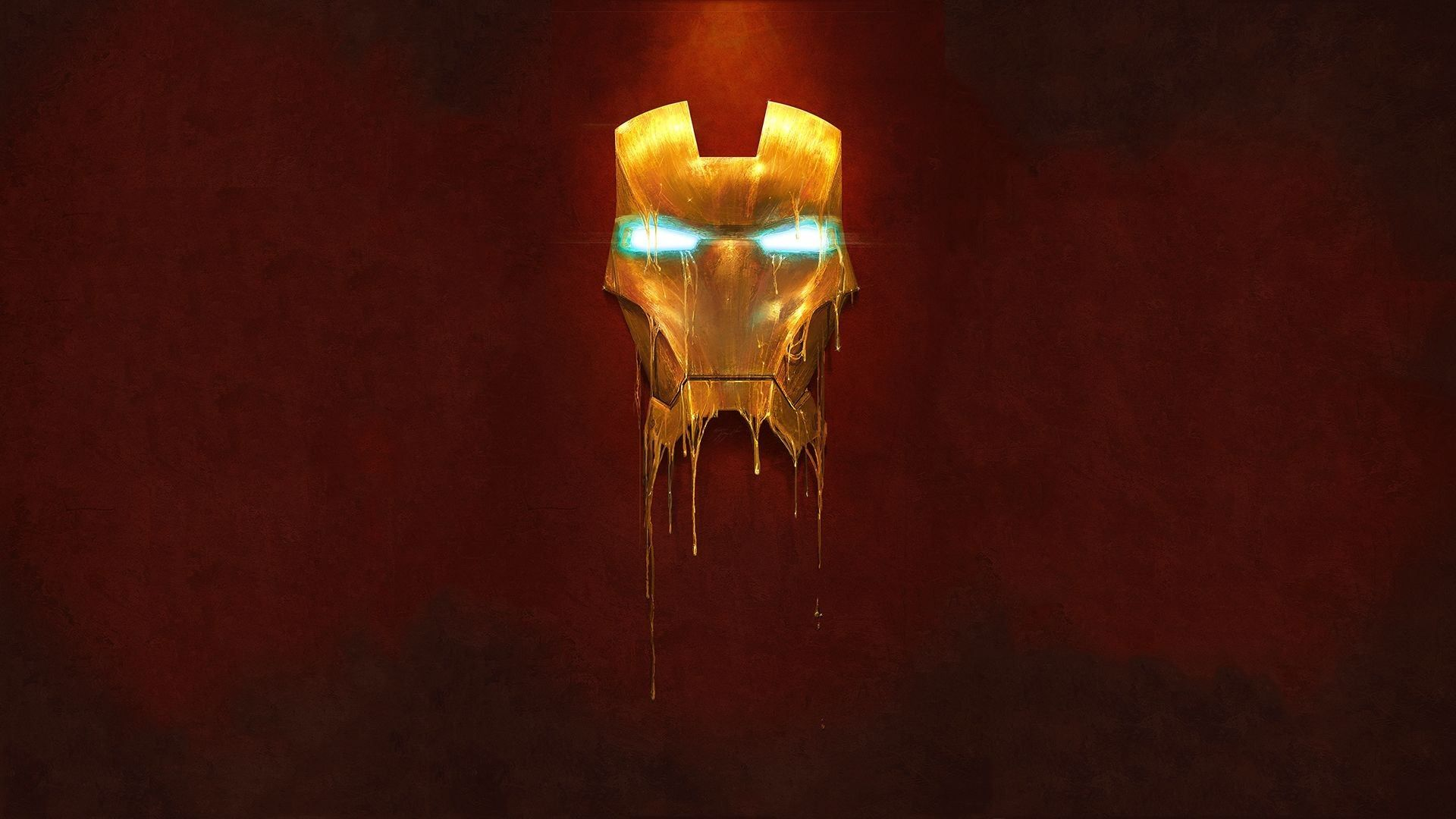 Great Digital Painting Of Ironman S Mask From The Avengers Melting Click The Link For The Full Wallpaper Http Digita Marvel Comics Hd Wallpaper Wallpaper