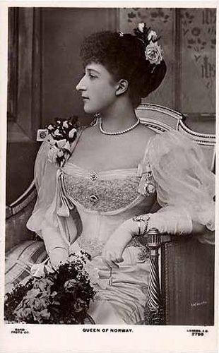 Queen Maud of Norway, Dronnig av Norge by Miss Mertens, via Flickr