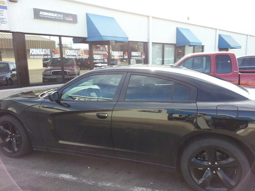2014 Dodge Charger Tinted With Formula One Comfort 38 And 50