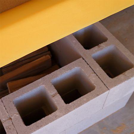 Fabulous How To Make Diy Concrete Block Storage Garden Bench Diy Squirreltailoven Fun Painted Chair Ideas Images Squirreltailovenorg