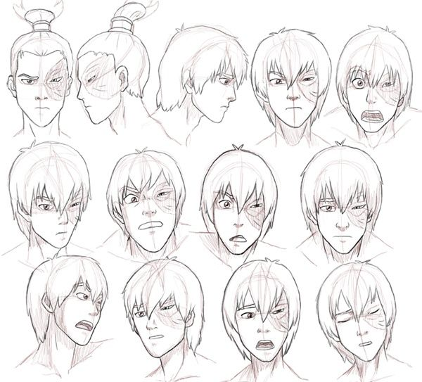 Avatar The Last Airbender Drawing Style