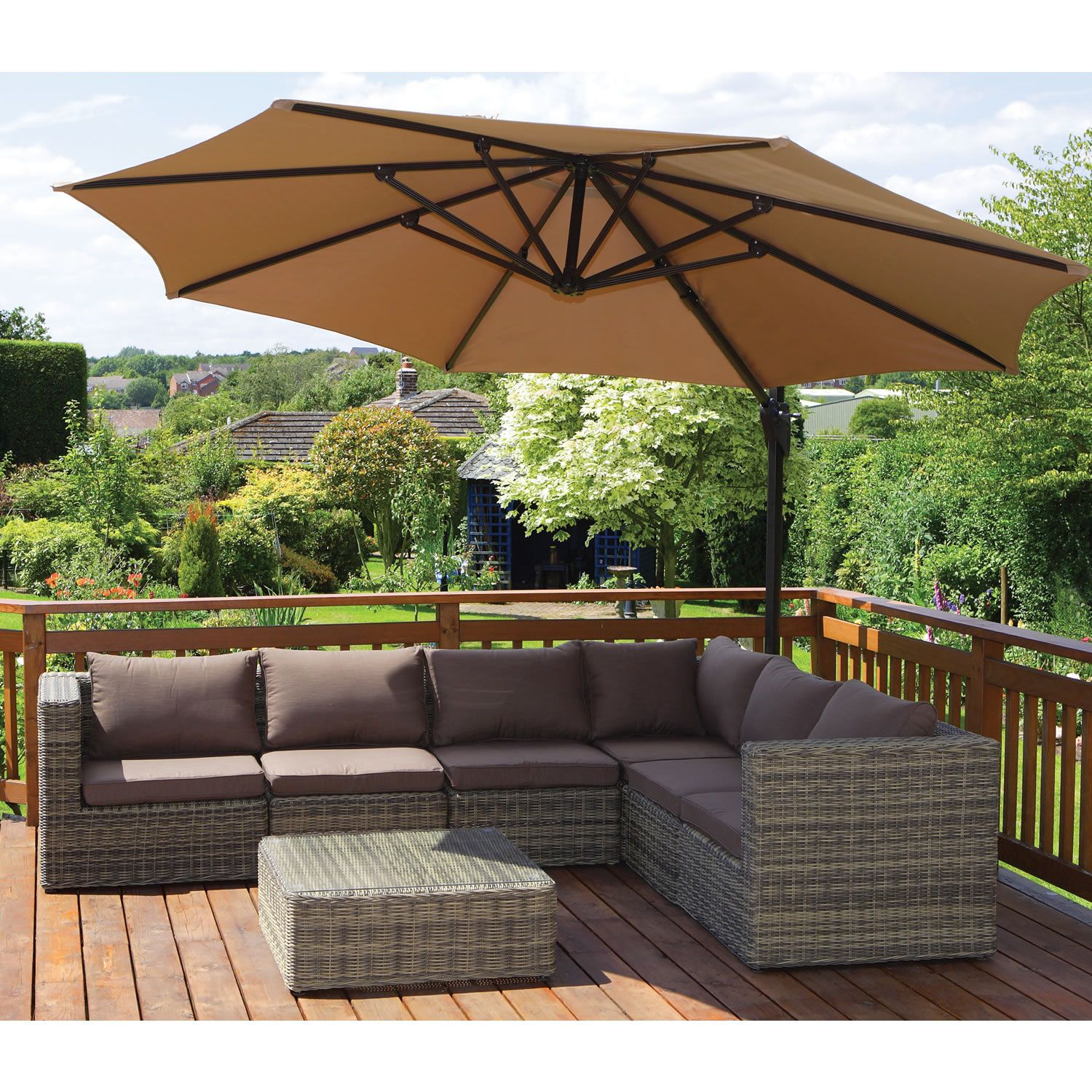 Superior Stylish Rattan Corner Sofa Set. Http://www.worldstores.co. Garden SofaGarden  FurnitureBalcony ...