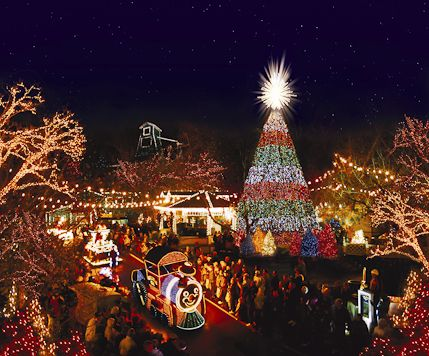 Silver Dollar City Went For Christmas 2008 Can T Wait To Go Back Next Christmas Christmas Light Displays Christmas Town Best Christmas Lights