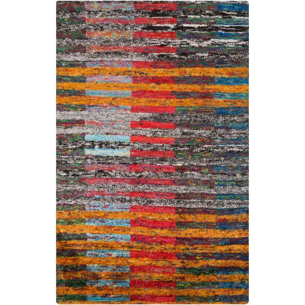 Artistic Stairs Canada: Artistic Weavers Myckle Black 8 Ft. X 11 Ft. Indoor Area