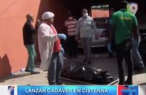Encuentran El Cadáver De Un Comerciante Amarrado Dentro De Una Cisterna #Video