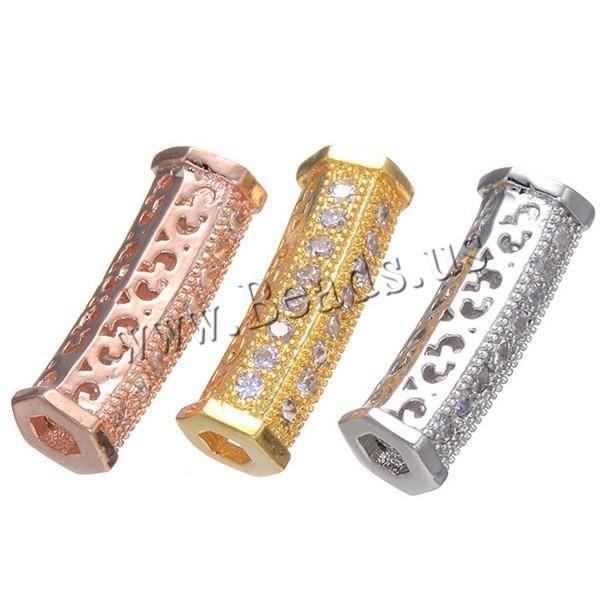 #Milky Way Jewelry - #Milky Way Jewelry Cubic Zirconia Micro Pave Brass Beads - AdoreWe.com