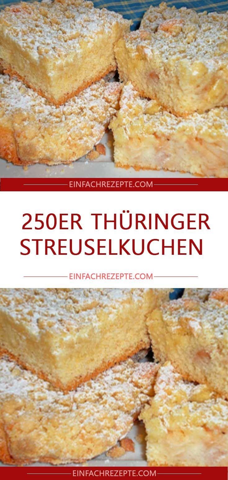 Photo of 250 Thuringian crumble cake