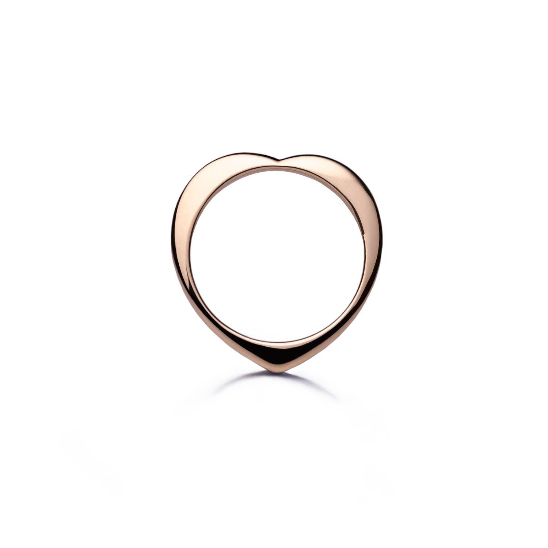 Nora Kogan  Heart Ring in 14k rose gold