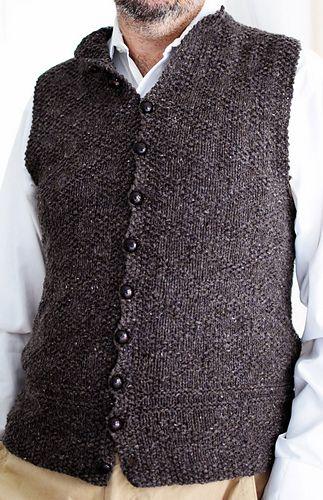 A Vest For Charles Pattern By Kathleen Dames Knit Vest Pattern Crochet Waistcoat Knit Vest