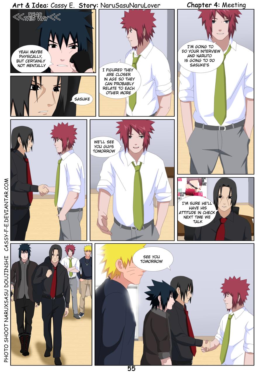Photo Shoot narusasu Doujinshi :: Comics - Page 55