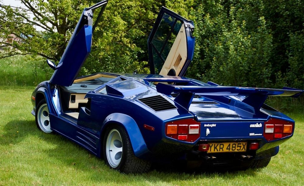 lamborghini countach lp 5000 quattrovalvole replica kit. Black Bedroom Furniture Sets. Home Design Ideas