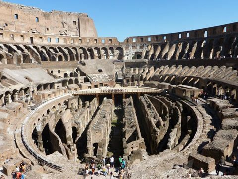 Inside The Colosseum Kiss Kiss Robin Wonders Of The World