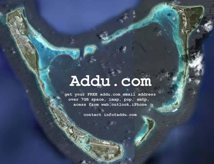 The heart of Maldives   Hithadhoo / Addu City