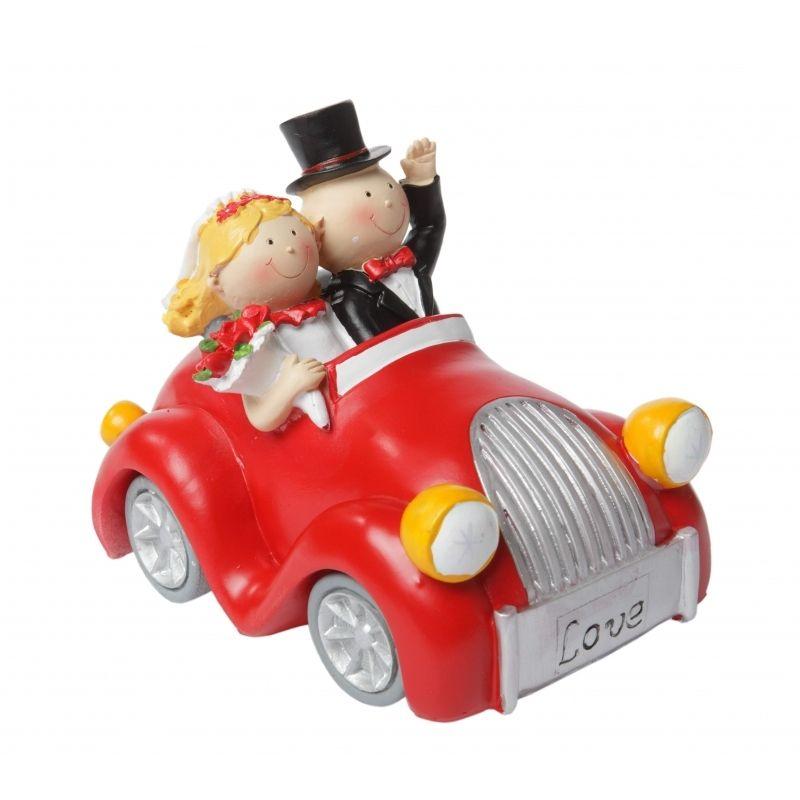 Spardose Auto als originelles Geldgeschenk zur Hochzeit