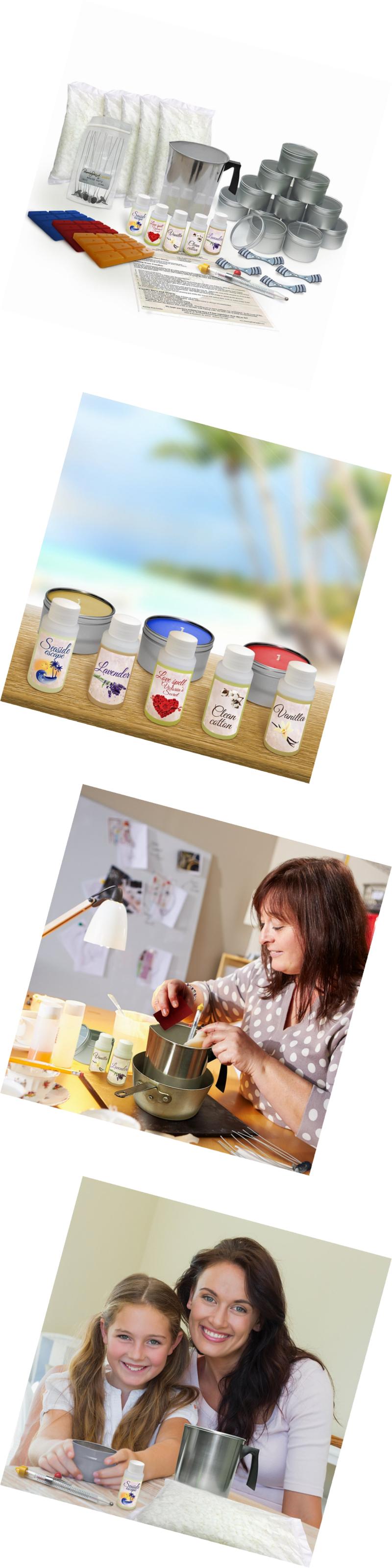 Candle And Soapmaking Kits 41205 Burning