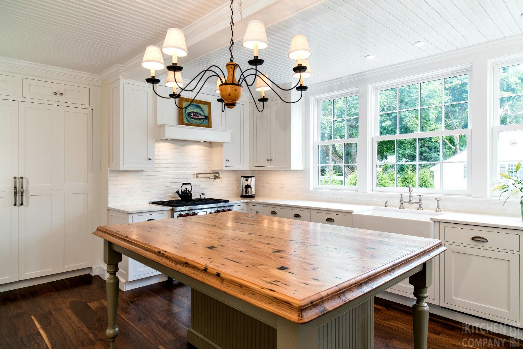 1920's Beach House Kitchen in Madison, CT | Cottage ...