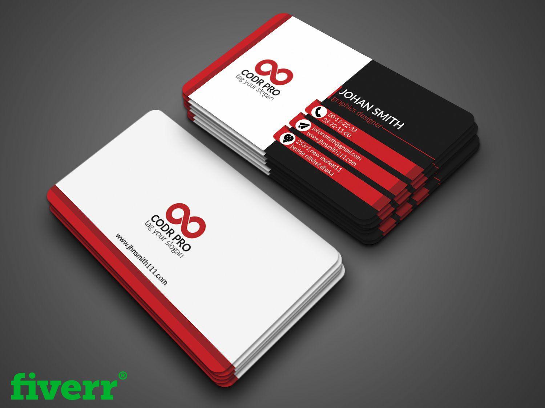 Graphic Design Services Hire A Graphic Designer Today Fiverr Business Card Template Photoshop Business Cards Creative Professional Business Card Design