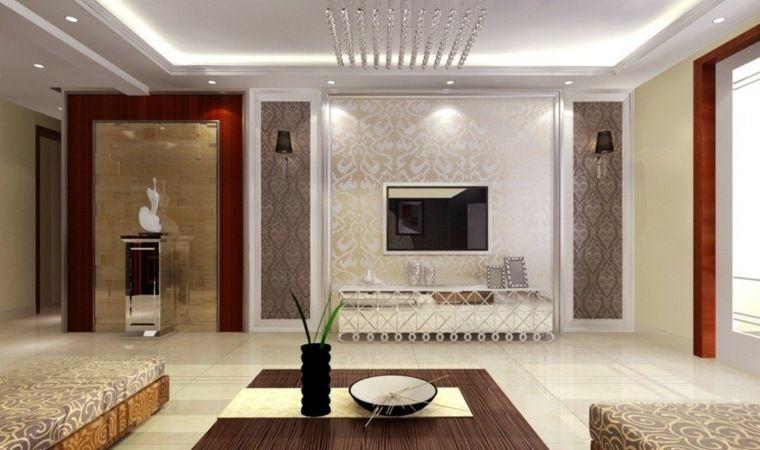 Merveilleux Decoration Plafond Moderne #6: Poser Un Faux Plafond : Idées Et Conseils