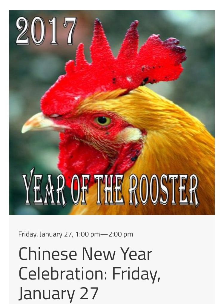 Celebrate Chinese New Year with us at the Arboretum. http://bit.ly/2i1aTCq