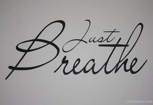 And Dont Forget Breathe Tattoo