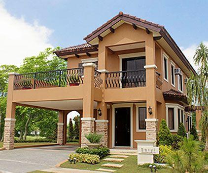 Tastefully Design Guyanese Home Duplex House Design House Plans Mansion Beautiful Home Designs