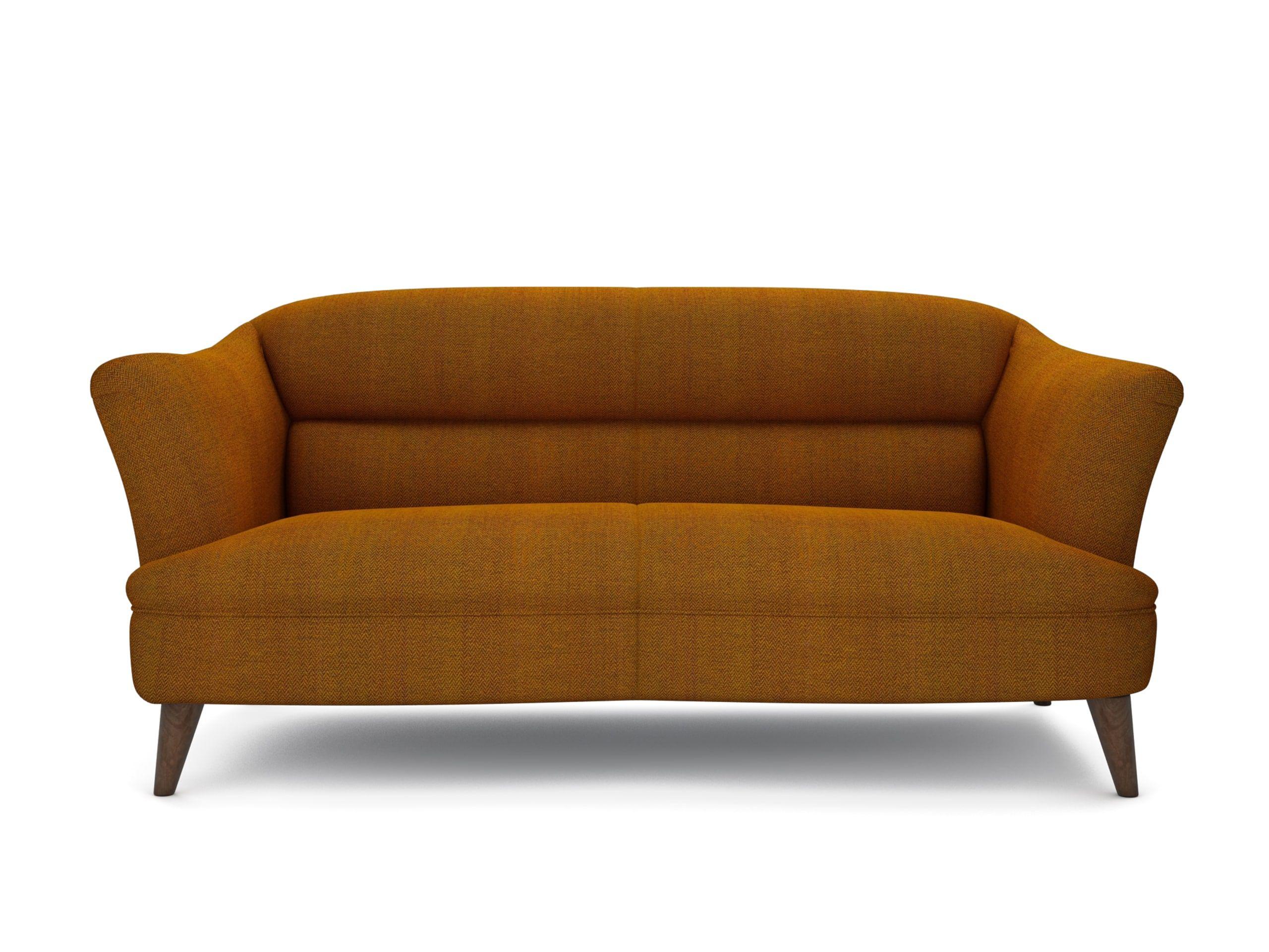 The Lounge Co Willow 25 Seater Sofa in Herringbone Queen Bee
