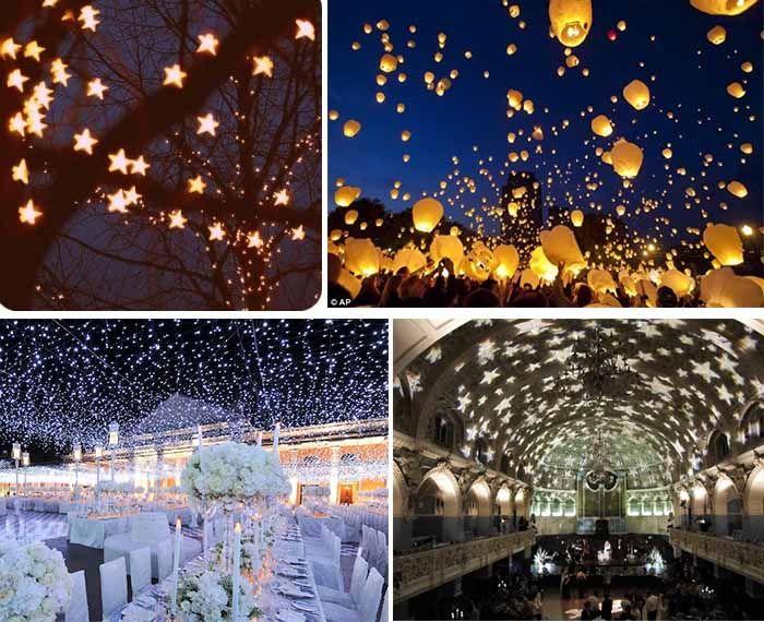 Night Wedding Ideas Starry Night Wedding Theme Starry