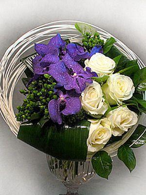 фото композиция из цветов