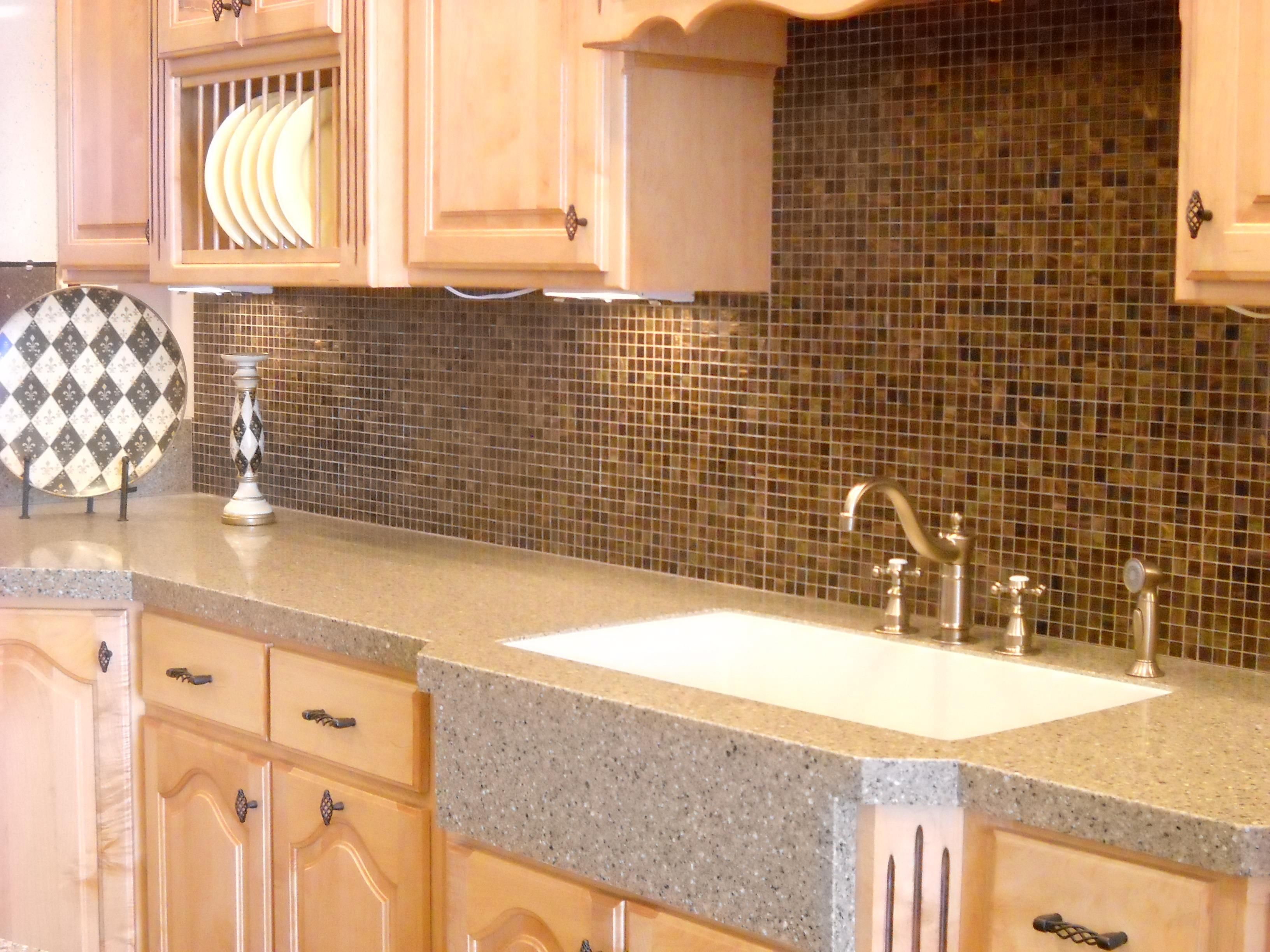 I Like The Combination Of Undermount Sink With The Granite Overlay Which Ties Into The Trendy Farmhouse Kitchen Farmhouse Chic Kitchen Farmhouse Sink Kitchen