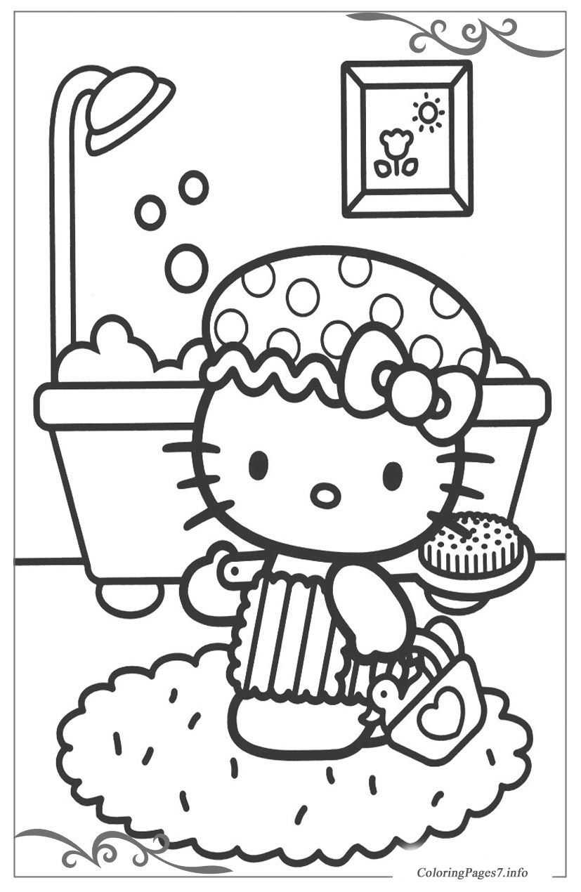 Hello Kitty Printable Coloring Pages For Kids Hello Kitty Coloring Hello Kitty Colouring Pages Kitty Coloring